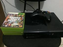 X box 360 com jogos
