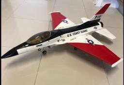 Aeromodelo Caça F-16 Elétrico