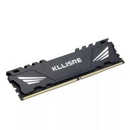 Placa Kllisre Ddr 4 4gb 2400 Memória Ram Dissipador De Calor