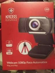 Webcam 1080p full hd!! Com foco automático