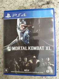 Mortal Kombat XL PS4 - pra vender hoje