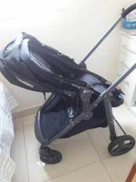 Carrinho de bebê e moisés
