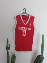 Camisa de basquete Rockets