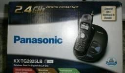 Telefone Panasonic Sem fio C/ID novo sem uso na caixa somente hoje