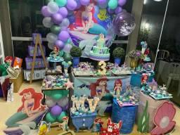 Alugo decoração Sereia Ariel
