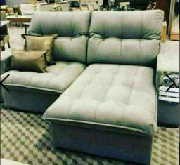 Sofa retrátil Reclinavel Lar Shopping Novo