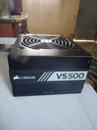 Fonte Corsair VS 500 (leia o anúncio)