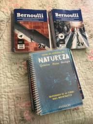 Duas apostilas Bernoulli + materias para estudo