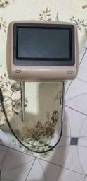 Tela  LCD encosto de cabeca veiculo