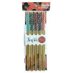Título do anúncio: Pacote de hashi rosa com 10 conjuntos unicasa