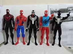 lote 5 homem aranha 30 cm originais hasbro