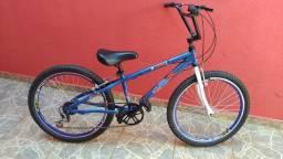 Bicicleta aro 20 alumínio