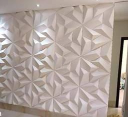 Gesseiro Instala Painel 3D