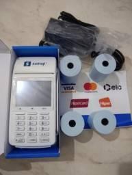 Máquina de cartão de crédito e débito Sumup TOTAL