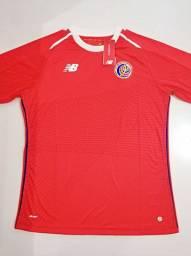 Camisa Costa Rica Home New Balance 18/19 - Tamanho: G