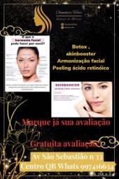 Botox , skinbooster etc