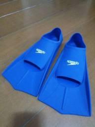 Nadadeira Speedo Infantil - Azul - 34 - 35