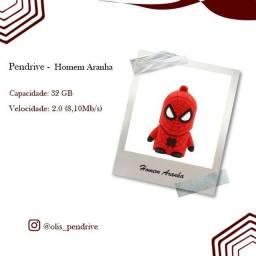 Pendrive 32 Gb Spiderman (homem aranha)