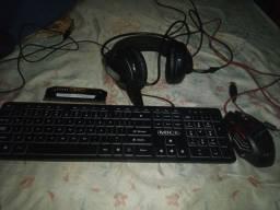 Kit gamer e memoria ddr3