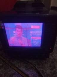 Tv portátil 5' colorida CCE, só precisa trocar o auto falante