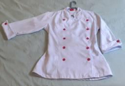 Dolmãs femininas - Uniforme de chef