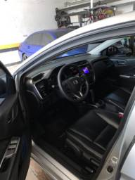 Honda City EX Flex 2015/2015 Aut (banco de couro)