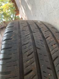 Par de pneus r18 215/55
