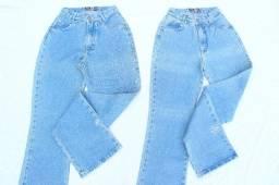 Lote com 6 Calças Mom Jeans Vintage CGC