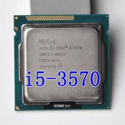 Processador Intel i5 3570 Quad Core 3.4Ghz L3=6M 77W Socket LGA 1155 Desktop CPU