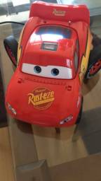 Toca cd e rádio do lighting McQueen