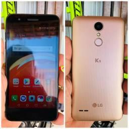 LG K9 Dourado