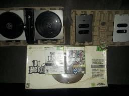 DJ hero 2 turntable para xbox 360