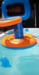 Cesta de basquete inflável para piscina Nabaiji - Decathlon<br>