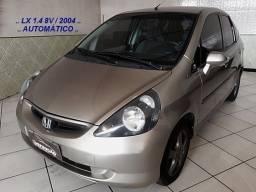 FIT-LX 1.4 8V 80CV Câmbio Automático / 2004 + Laudo Aprovado / Completíssimo