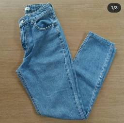 Calça mom jeans C&A