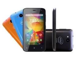 Celular smartphone Intel Novo na caixa