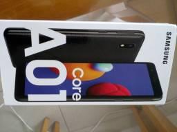 celular smartphone Samsung Galaxy A01 core nota e 3 anos garantia