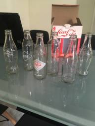 Garrafas colecionáveis Coca-Cola
