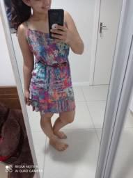 Vestido com cinto Mercatto