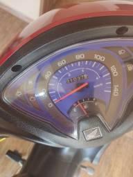 Biz 125 com partida elétrica