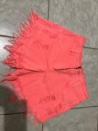 Shorts novos nuca usados