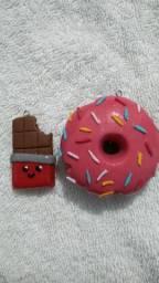 Chaveiro fofo de biscuit
