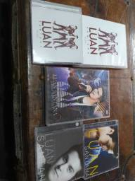 Kit com DVDs e CDs Luan Santana