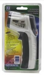 Termômetro industrial Infravermelho Laser Digital - Ferimte TC 0380.