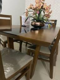 Mesa madeira semi nova Jacaúna