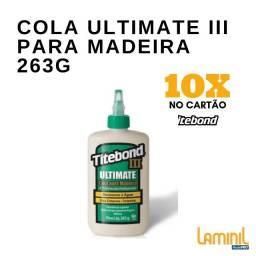 Cola Ultimate III para Madeira 263g