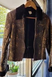 Jaqueta em couro legítimo Nova
