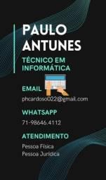 Técnico em Informática - Reparos e Upgrades