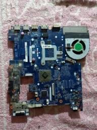 Placa mãe notebook lenovo g485 funcionando