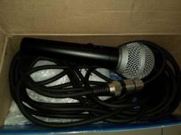 Título do anúncio: Microfone Le Son Ls-50 Dinâmico  Unidirecional E Cardióide P
